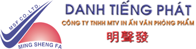 Cong ty TNHH MTV In An VPP Danh Tieng Phat